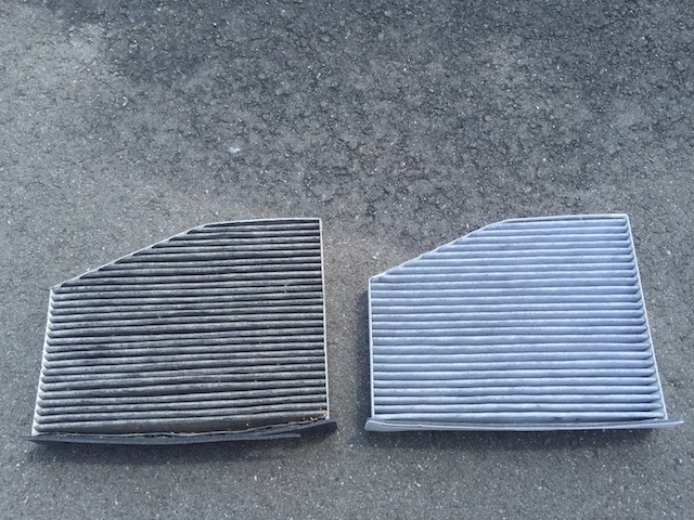 VW ゴルフ5 GTIのエアコンフィルターをMANN製に交換してみた!